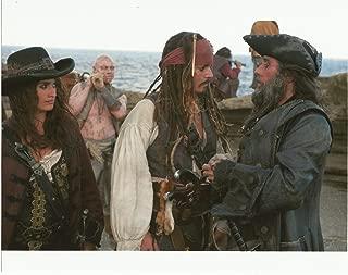 Johnny Depp, Penélope Cruz & Ian McShane Pirates of the Caribbean 8x10 Movie Photo