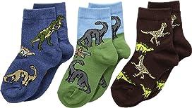 Dino Triple Treat 3-Pack (Infant/Toddler/Little Kid)