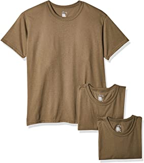 SOFFE Men's 3 Pack - USA Poly/Cotton Military Tee