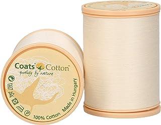 MEZ Cotton Stärke 50 4667050-01212 beige Nähgarn, 100 % Baumwolle, 1000m