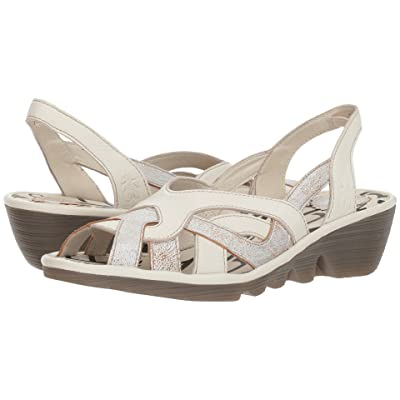 FLY LONDON PIMA887FLY (Pearl/Off-White Cool/Mousse) Women