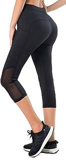 comprar comparacion Sudawave – Mallas Capri para mujer con bolsillos laterales