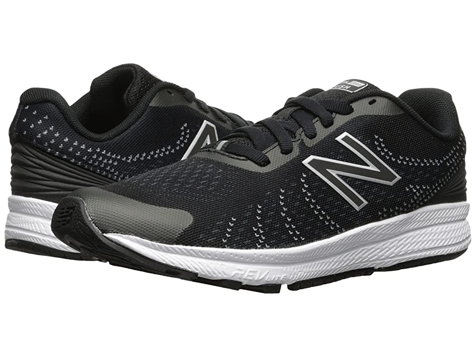 New Balance Kids Rush (Little Kid) (Black/Grey) Boys Shoes