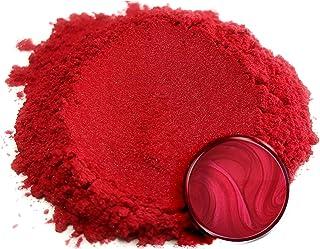 "Eye Candy Mica Powder Pigment ""Baku Red"" (25g) Multipurpose DIY Arts and Crafts Additive | Natural Bath Bombs, Resin, Pain..."