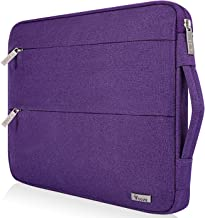 Purple Wisteria Fresh Green Pattern Neoprene Sleeve Pouch Case Bag for 11.6 Inch Laptop Computer Designed to Fit Any Laptop//Notebook//ultrabook//MacBook with Display Size 11.6 Inches