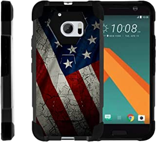 TurtleArmor   Compatible for HTC 10 Case   One M10 Case   HTC 10 Lifestyle [Dynamic Shell] Hybrid Dual Layer Hard Shell Cover Kickstand Silicone Case -