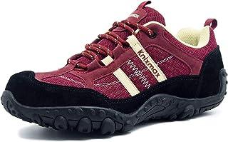 Zapatillas de Senderismo para Mujer Hombre, Zapatillas de Montaña Trekking Trail Ligeros Cómodos y Transpirables, Zapatillas de Seguridad Low-Top Antideslizante de Deporte