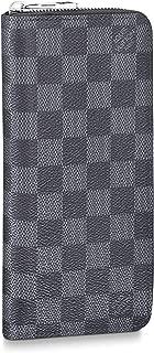 Louis Vuitton Zippy Wallet Vertical Damier Graphite Canvas N63095