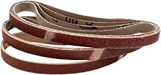 Professionele schuurbanden │ 48 stuks │ 13 x 451 mm │ elk 8 x korrel 40/60/80/120/180/240 │ compatibel met Black&Decker® P...