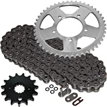 Caltric Steel O-Ring Drive Chain & Sprockets Kit Fits SUZUKI GSF600S GSF-600S Bandit 600 2000-2003