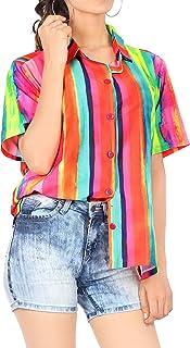 Amazon.es: fiesta hawaiana - Blusas y camisas / Camisetas ...