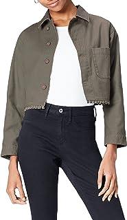 Amazon-Marke: find. Jacke Damen mit verkürzter Silhouette