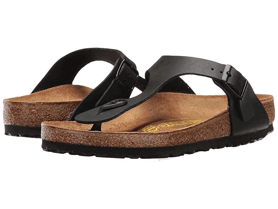 Birkenstock Gizeh Birko-Flortm (Black Birko-Flortm) Women's Sandals