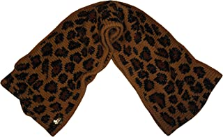 Women's Infinity Scarf Camel Cheetah Print