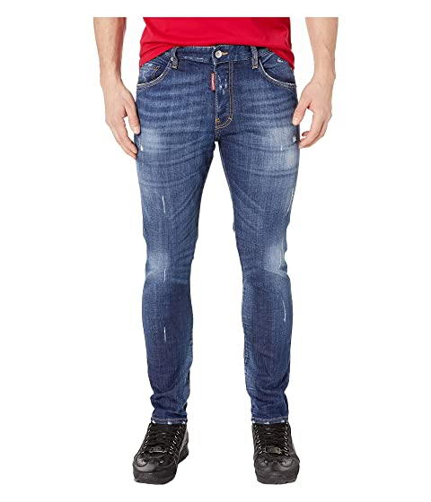 DSQUARED2 Skater Jeans in Basic Garden Wash