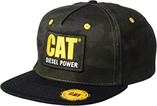Men's Diesel Power Flat Bill Cap, Night camo, One
