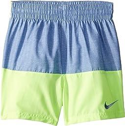 "4"" Linen Split Volley Shorts (Little Kids/Big Kids)"