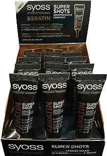 Syoss Hair Mask Kratin 12Pcs Display 12ml