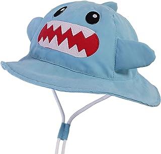 LANGZHEN Kids Sun Protection hat Cute Animals Designed Toddler Boys Girls Bucket hat