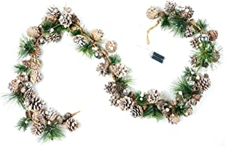 Best Garland With Pine Cones And Lights of 2020 – Top Rated & Reviewed