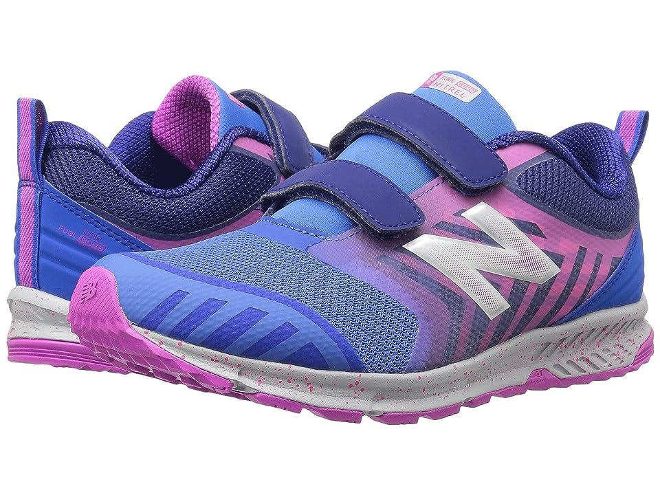 New Balance Kids FuelCore NITREL (Little Kid/Big Kid) (Blue/Pink) Girls Shoes