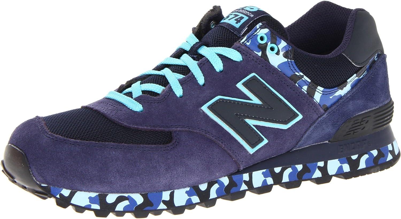 Amazon.com | New Balance Men's ML574 Camo Sneaker | Athletic