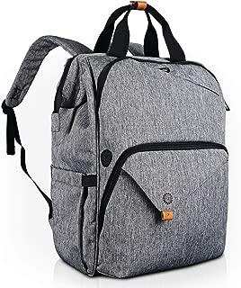 Hap Tim Laptop Backpack 15.6/14/13.3 Inch Laptop Bag Travel Backpack for Women/Men Waterproof School Computer Bag Large Capacity Bookbag for College/Travel/Business (7651AU-G)