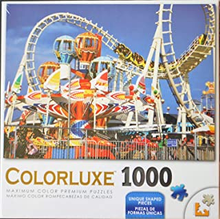 Colorluxe Amusement Park Rides 1000 Piece Jigsaw Puzzle