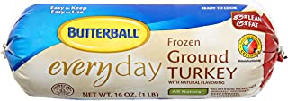 Butterball, Ground Turkey with Natural Flavor, 16 oz (Frozen)