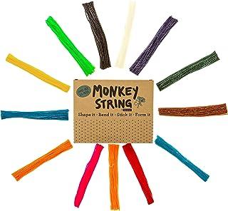 Impresa Products 500 Piece Pack of Monkey String (Jumbo Pack) - Wiki / Wikki Bendable, Sticky Wax Yarn Stix / Sticks in Bu...