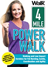 Walk On: 4-Mile Power Walk with Jessica Smith - Indoor Walking and Low Impact Aerobics for Fat Burning, Cardio, Coordination, and Agility [DVD]