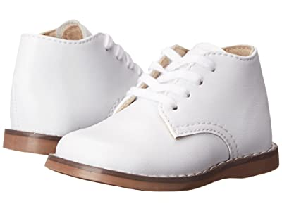 FootMates Todd 3 (Infant/Toddler) (White) Kids Shoes