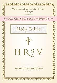 NRSV, The HarperCollins Catholic Gift Bible, Imitation Leather, White