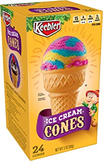 Keebler Ice Cream Cones, Cake Cups, 24 ct