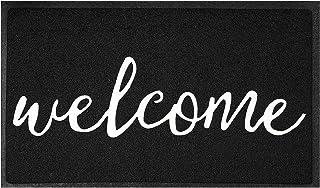 Door Mat Durable Welcome Mat Front Doormat Indoor Outdoor Doormat Non Slip Easy Clean Rugs for Entryway, Front Door,Patio...