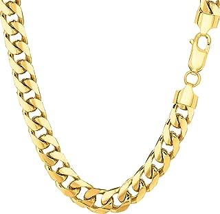 Best solid gold cuban link bracelet Reviews