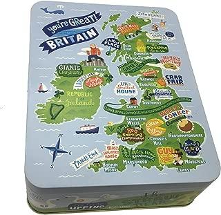 Marks & Spencer Great Britain All Butter Cookie Tin 375g (Stem Ginger, Oat & Honey, Dark Chocolate)