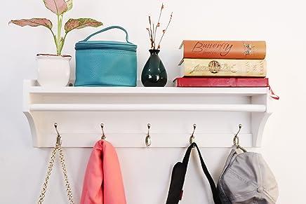 Amazon.es: percheros pared - Almacenaje de ropa y de armario ...