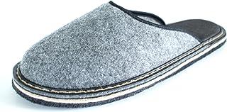 Revise Pantoufles en Feutre - Chaussons - Feutre ou Semelle en Caoutchouc – Solide - Tailles 36 à 50
