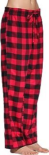 Women's 100% Cotton Super Soft Flannel Plaid Pajama/Lounge Pants