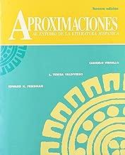 Aproximaciones Al Estudio De LA Literatura Hispanica (Spanish Edition)