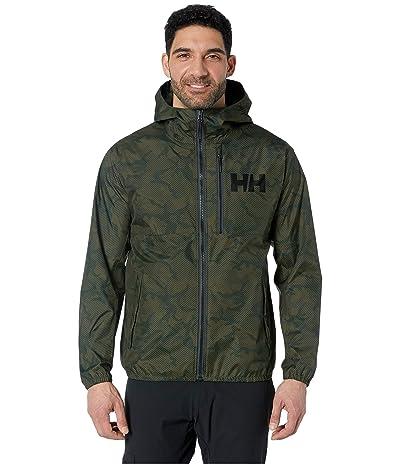 Helly Hansen Belfast Rain Jacket (Forest Camo) Men
