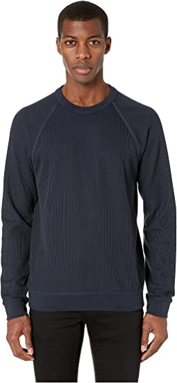 Flatback Rib Long Sleeve Crew