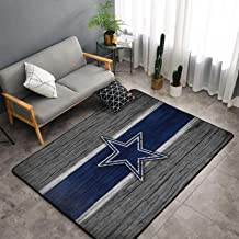 Dallas Cowboys Rugs Living Room Anti-Skid Area Rug Bedroom Floor Mat Fans Carpet