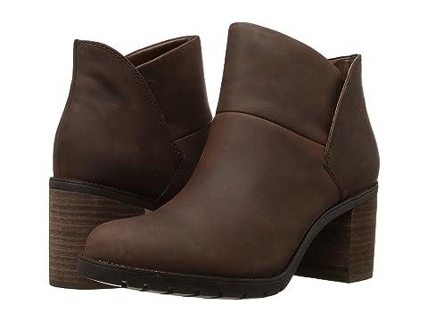 Womens Boots clarks black leather malvet maria eh4n68q4