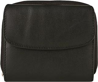Travelon Luggage Rfid Blocking Leather French Wallet, Black, One Size
