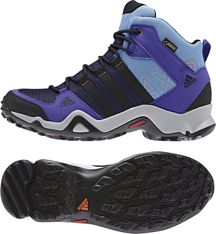 Adidas outdoor Women's AX 2 Mid Purple Sneakers 10 M