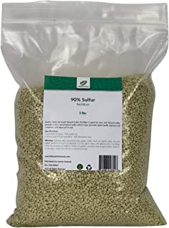 90% Sulfur Prill Fertilizer by Garden Naturals (15 Pounds)