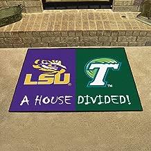Fan Mats 20504 LSU - Louisiana State Tigers vs Tulane Green Wave 33.75