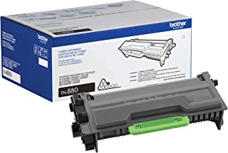 Brother Genuine Super High Yield Toner Cartridge, TN880, Replacement Black Toner, Page Yield Up To 12,000 Pages, Amazon Da...